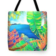 Colorful Tropics 16 Tote Bag