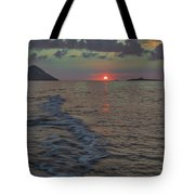 Colors Of The Sunrise Tote Bag