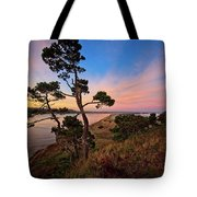 Columbia River Sunrise Tote Bag