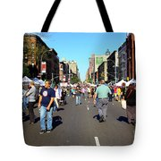 Columbus Day On Amsterdam Ave. Upper West Side, New York 2008 Tote Bag