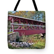 Colvin Covered Bridge Tote Bag