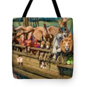Come Aboard There's Plenty Of Room Ark Tote Bag