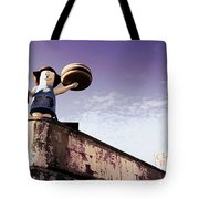 Coney Island Remnants Of Bygone Era  Ny  Tote Bag