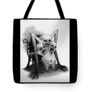 Congested Nightmare Carriage - Artwork Tote Bag by Ryan Nieves