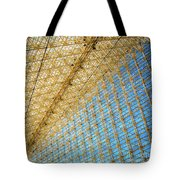 Constructive Abstract Tote Bag