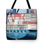 Container Ship Tote Bag
