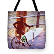Contemplating The Surf Tote Bag