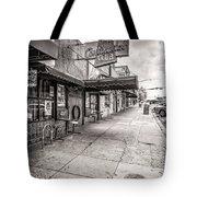 Continental Club Austin Black And White Tote Bag