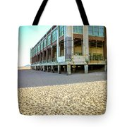Convention Hall Beach View Tote Bag