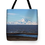 Cook Inlet And The Alaska Range From Ninilchik Tote Bag