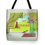 Cool Breeze Tote Bag by John Wiegand