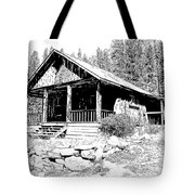 Coolidge Ghost Town Montana Tote Bag