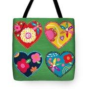 Corazon 1- Art By Linda Woods Tote Bag