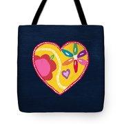Corazon 4- Art By Linda Woods Tote Bag