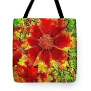 Coreopsis Abstract Tote Bag