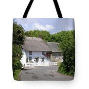 Cornish Thatched Cottage Tote Bag