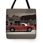 Corvette Cafe - C1 Tote Bag
