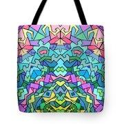 Cosmic Lock Tote Bag