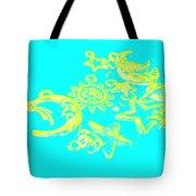 Cosmos Caricatures Tote Bag