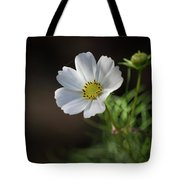 Cosmos In The Cottage Garden Tote Bag