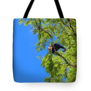 Costa Rica Capuchin Momma And Baby Aboard Tote Bag