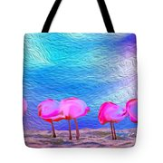 Cotton Candy Trees Tote Bag