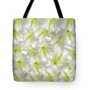 Cotton Seed Lilies Tote Bag