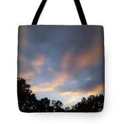 Cotton Sky Tote Bag