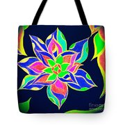 Couleur Epanouie Tote Bag by Rachel Maynard