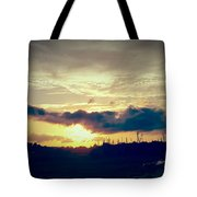 Country Sunset In Pavo Tote Bag