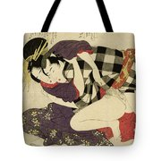 Courtesan With A Client, 1799 Tote Bag