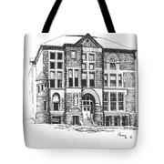 Courthouse Helena Montana Tote Bag