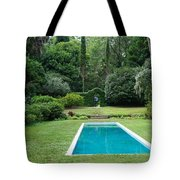 Courtyard Entrance Tote Bag