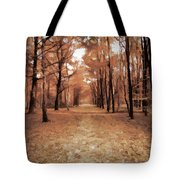 Covered Path Tote Bag