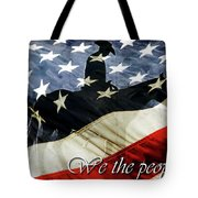 Cowboy Patriot Tote Bag