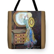 Cowgirl Powder Room Tote Bag