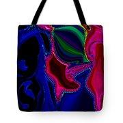 Crazy Abstract Amoeba Tote Bag