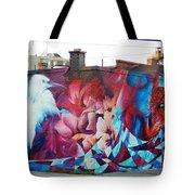 Creative Splash Of Artwork Tote Bag