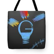 Creativity Is Light Tote Bag