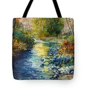 Creekside Tranquility Tote Bag