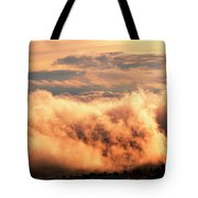 Cripple Creek Fog Tote Bag
