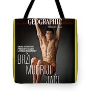 Croatian Cover Of The July 2018 National Geographic Magazine Tote Bag