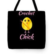 Crochet Chick 2 Tote Bag