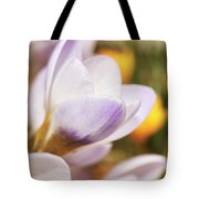 Crocus Tote Bag by Whitney Goodey