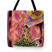 Crypto Flakes Red Tote Bag