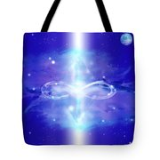 Crystal Chamber Of Light Tote Bag