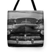 Customized 1950 Mercury In Bw Tote Bag