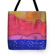 Civilizing Tote Bag by Kim Nelson