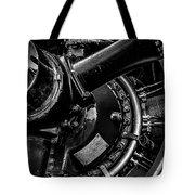 Cyclone Aircraft Engine Tote Bag by Bob Orsillo