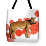 D Is For Dingo Tote Bag